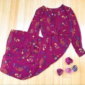 WAYF floral boho maxi dress, M.
